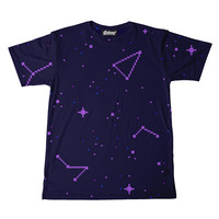 Violet Constellations Men's Tee
