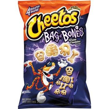 Cheetos Bag of Bones White Cheddar Cheese Flavored Snacks, 8 oz - Walmart.com