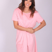 Pretty In Pink Shift Dress