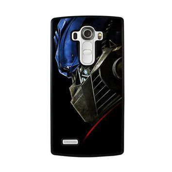 optimus prime transformers lg g4 case cover  number 1