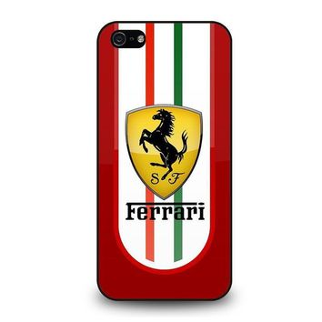 ferrari iphone 5 5s se case cover  number 1