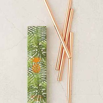 W&P Design Copper Straws Set - Urban Outfitters