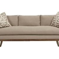 One Kings Lane - Lounge Around - Arden Sofa, Oatmeal