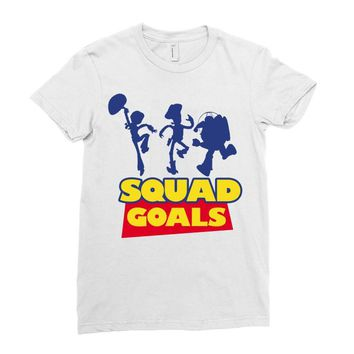 Toy Story Squad Goals Ladies Fitted T-Shirt