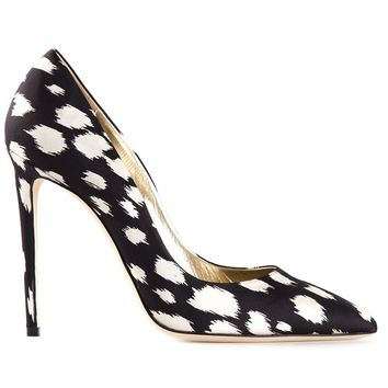 Fausto Puglisi animal print pumps