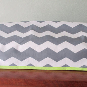 Grey and White Chevron Cover ONLY fits Cricut Expression and Expression 2