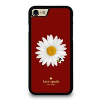KATE SPADE FLOWER AND BEE iPhone 4/4S 5/5S/SE 5C 6/6S 7 8 Plus X Case