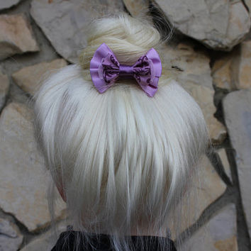 rapunzel mini hair bow