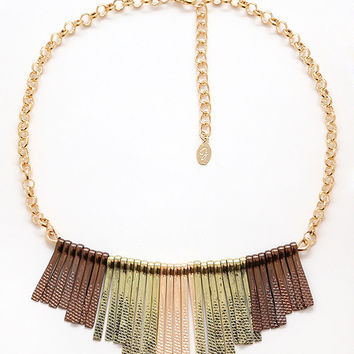 Keyed Affair Necklace