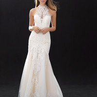 33709791 Modern Fit And Flare Wedding Dress | Kleinfeld Bridal