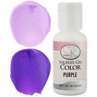 Purple CK Gel Paste Food Coloring