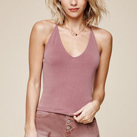 Me To We Landslide Crisscross Back Tank Top at PacSun.com
