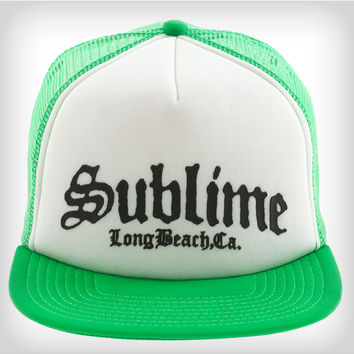 Sublime Green Trucker Hat