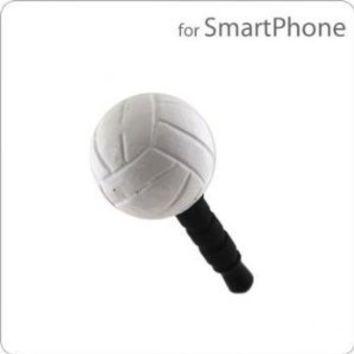 Plug Decoration Earphone Jack Accessory (Volleyball)