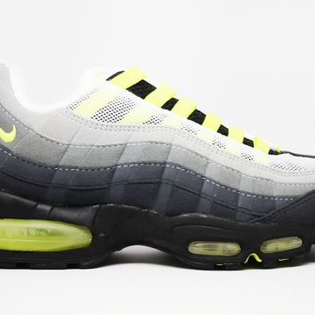 KUYOU Nike Air Max 95 SC Grey Neon Yellow