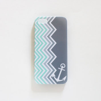 Nautical Chevron Iphone 5 Case