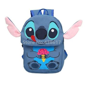Toddler Backpack class Cartoon Cute Stitch Backpack School Bags for Children Boys Kids Kindergarten Preschool School Toddler Bag Schoolbag AT_50_3