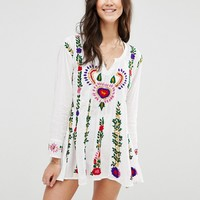 Raga The Barbara Embroidered Dress at asos.com