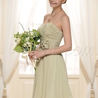 Gorgeous A-Line Sweetheart Empire Knee-Length Bridesmaid Dress 10570736 - Bridesmaid Dresses 2014 - Dresswe.Com