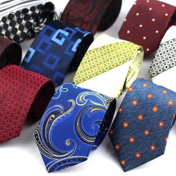 Gemay Paisley Silk Neckties for Men
