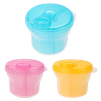 1 Pc Portable Baby Milk Powder Formula Dispenser Food Container Infant Feeding Storage Box Travel Bottles For Baby Kids Care