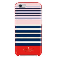Apple iPhone 6/iPhone 6s Incipio Kate Spade New York Hybrid Hardshell Case - Laventura (red/navy/blush)