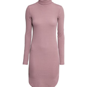 H&M Ribbed Turtleneck Dress $39.95