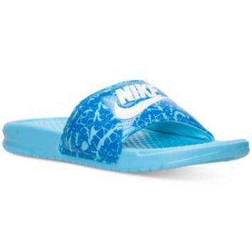 Nike Women's Benassi JDI Print Slide Sandals from Finish Line | macys.com