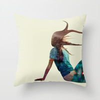 Boring - Just Another Day Throw Pillow by Infloence