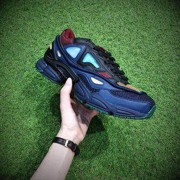 Raf Simons x Adidas Consortium Ozweego 2 Dark Shale 2018 Women Men Casual Trending Running Sports Shoes Sneakers