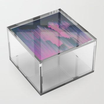 Tickled Pink Acrylic Box by duckyb