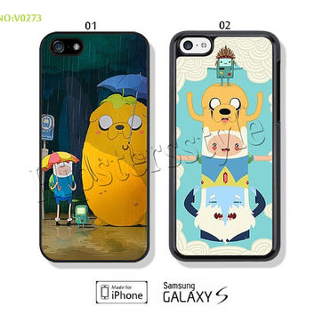 Phone Cases, iPhone 5/5S Case, iPhone 4/4S Case,  iPhone 5C Case, Adventure time Galaxy S3 S4 S5 Note 2 Note 3-B0273