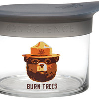 420 Science - Burn Trees with Silicone Lid - Storage