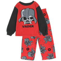 Star Wars Toddler Boy's Darth Vader Fleece Pajama Set