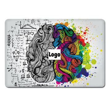 Hot Sale For Apple Macbook Sticker Laptop Top Vinyl Decal Fashion Brain World Map Design Skin Air Retina Pro Notebook Sticker