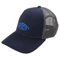 Tech Cooler Fishing Hat in Navy by AFTCO