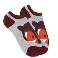 FOREVER 21 Fox Ankle Socks