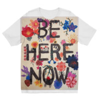 Kids Be here Now Tee