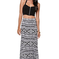 Nollie Tribal Flat Front Skirt at PacSun.com