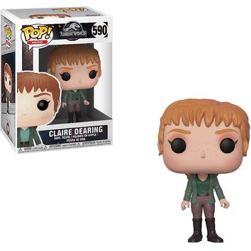 Claire Funko Pop! Movies Jurassic World Fallen Kingdom