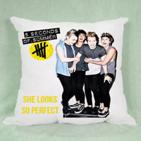 5 SOS Second of Summer High Quality Pillow Case Cushion 16 18 20 2 Side Cover