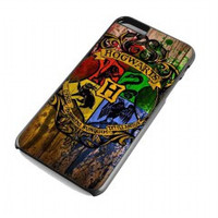 hogwart alumni harry potter in wood for iphone 6 plus case