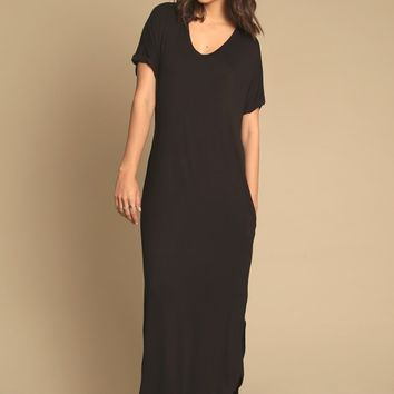 Beginning Trails Relaxed Maxi Dress | Threadsence