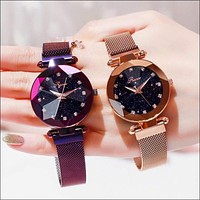 Starry Sky Luxury Women Watch With Magnetic Strap
