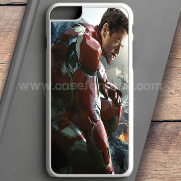 Iron Man Black Version iPhone 6 Plus Case | casefantasy