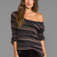 Goddis Phoenix Sweater in Blackberry Wine