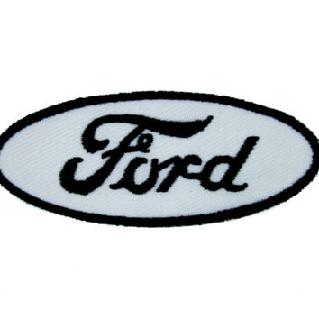 Ford Motor Company Patch Iron On Applique Alternative Clothing Truck Car