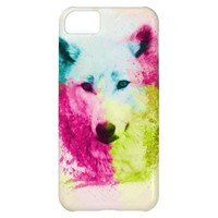 Colorful Wolf Case Mate  iPhone 5 Case