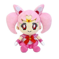 Bandai Sailor Moon Mini Plush Doll Cushion 2 Sailor Chibi Moon