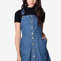 Alva Denim Jumper Dress